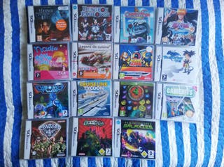 15 Juegos Nintendo 3DS. 14 Precintados