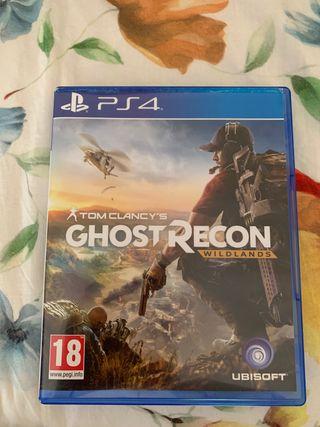 Ghost recon wildlans ps4