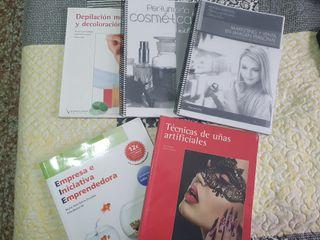 Libros 2° año de estética y belleza (grado medio)