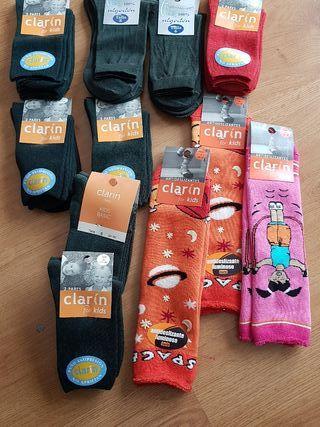 calcetines infantiles talla 8 años