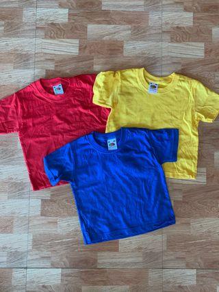 Camisetas Fruit of the loom