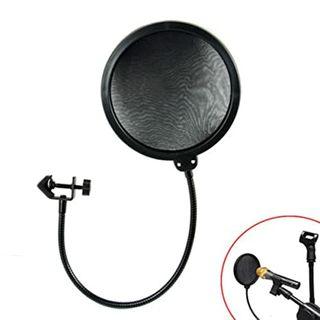 POP doble capa. Protector de micrófono estudio