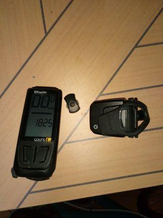 Cuentakilómetros inalámbrico.