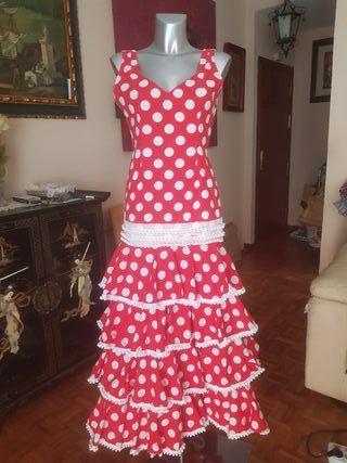 traje de flamenca,gitana o rociero