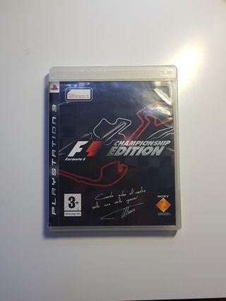 Fórmula One Championship Edition ps3 play 3