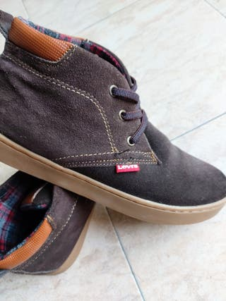 botines mujer levis