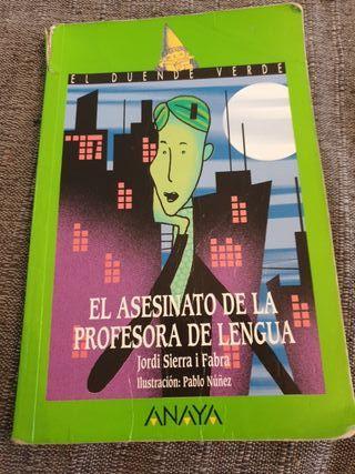 El asesino de la profesora de lengua