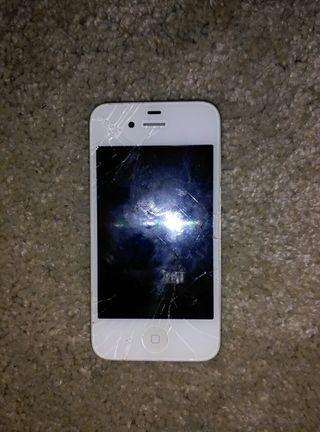 iphone 4 solo para piezas