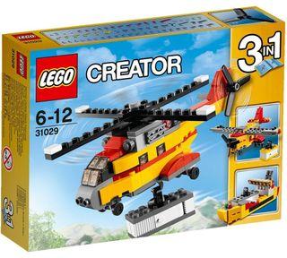 LEGO HELICOPTERO MERCANCIAS