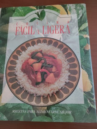 LIBRO COCINA FACIL Y LIGERA