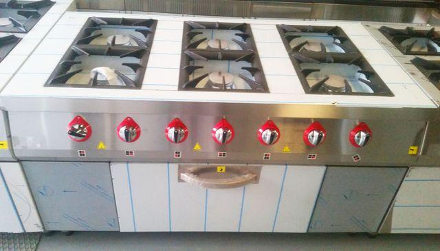 cocinas con horno a gas