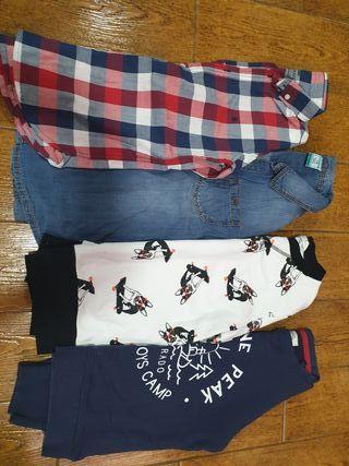 camisas y sudaderas