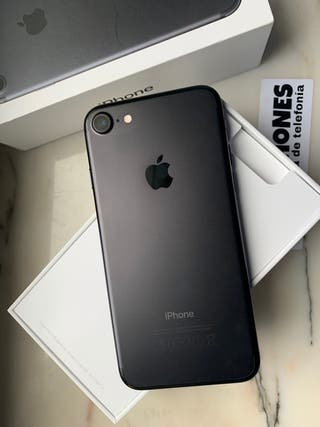 IPhone 7 128gb negro mate