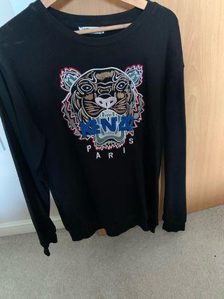 Kenzo Paris black sweatshirt XXl