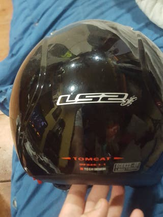 casco jet ls2 tomcat