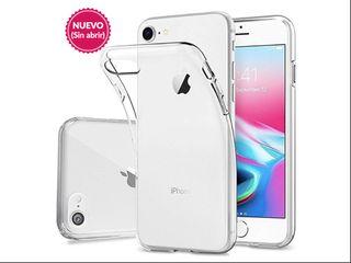 |NUEVO| Funda transparente flexible iPhone 7/8