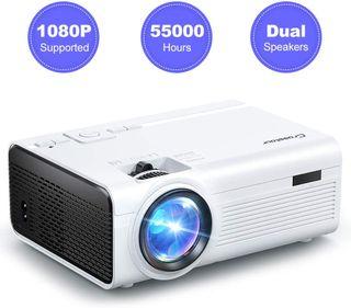 Mini Proyector Portátil Soporte Full HD 1080P 2000