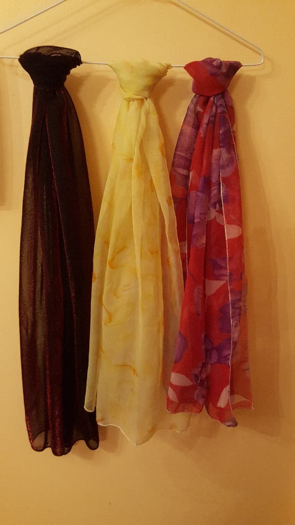 Foulards de Chifón.