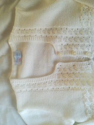 chaqueta de foque color blanco roto talla2