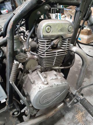 motor CSR 125 4t