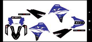 Yamaha xt 125 R pegatinas kit