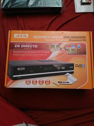 Receptor TV satélite Axil RS.0620
