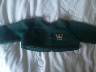 jersey corto verde botella Eva castro