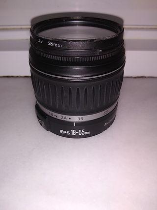 Objetivo Canon EF-S 18-55mm II