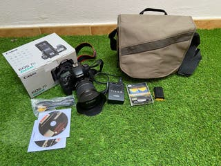Canon EOS 7D + Canon efs 17-55mm IS usm