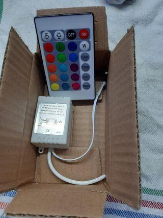 controlador+mando rgb