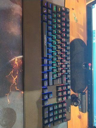 teclado mecánico keep out f115