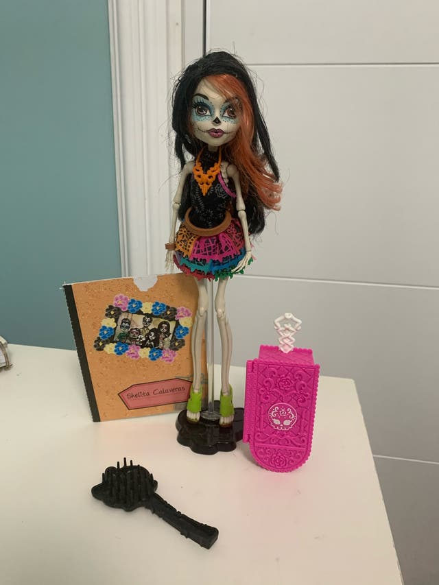Muñeca Skelita Calaveras Monster High
