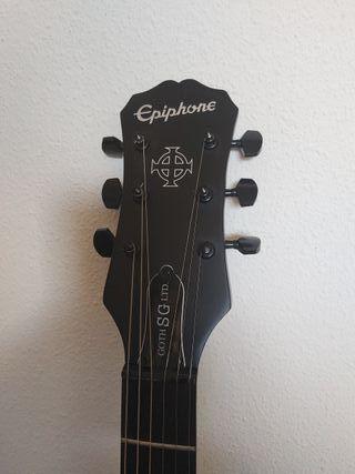 Guitarra Eléctrica Epiphone SG Gothic LTD