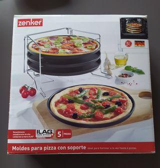 Molde pizza soporte