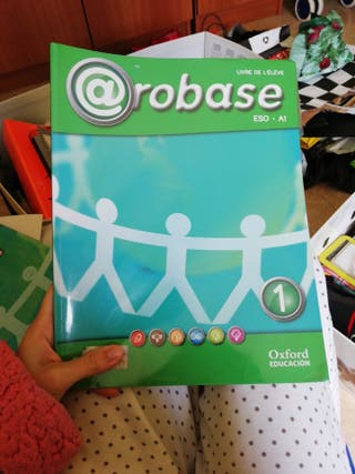 Libro Francés @robase, ESO A1, nuevo sin uso.
