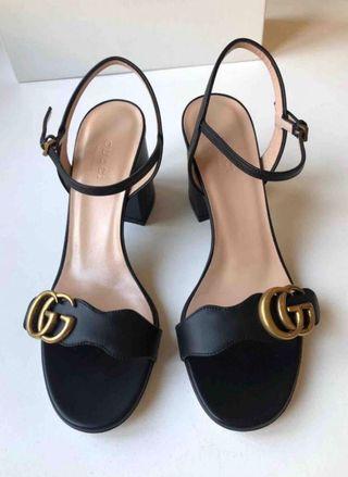 Zapatos sandalias gucci auténticos