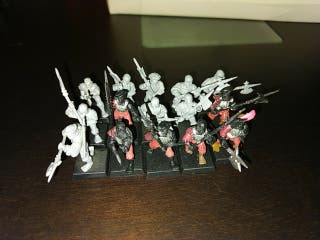 Alabarderos imperio Warhammer fantasy