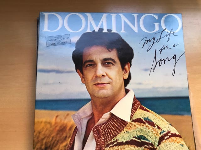 Vinilo Plácido Domingo