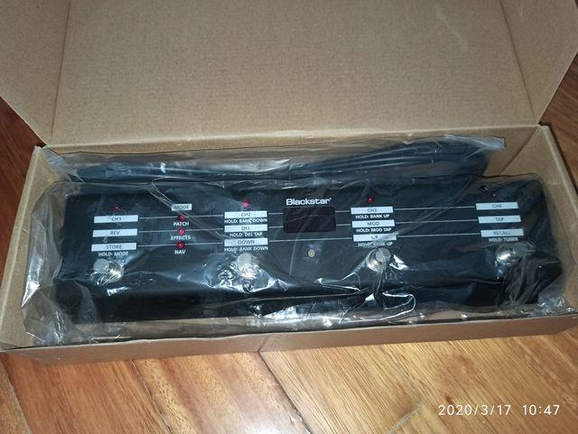 Pedalera Multifunción Blackstar FS 10 nueva