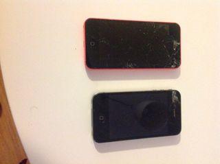 IPHONE OCASION / No funcionan, solo para piezas.