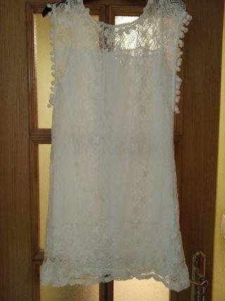 Vestido corto talla S