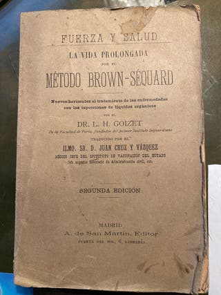 Libro de medicina antiguo 1893