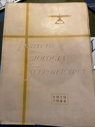 Libro antiguo de medicina 1919/1944