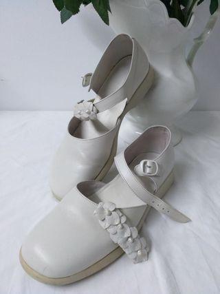 Zapatos de comunión niña