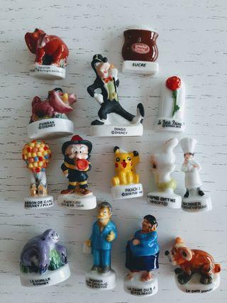 Figuras miniaturas roscón de reyes