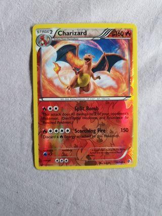 Carta Pokémon charizard