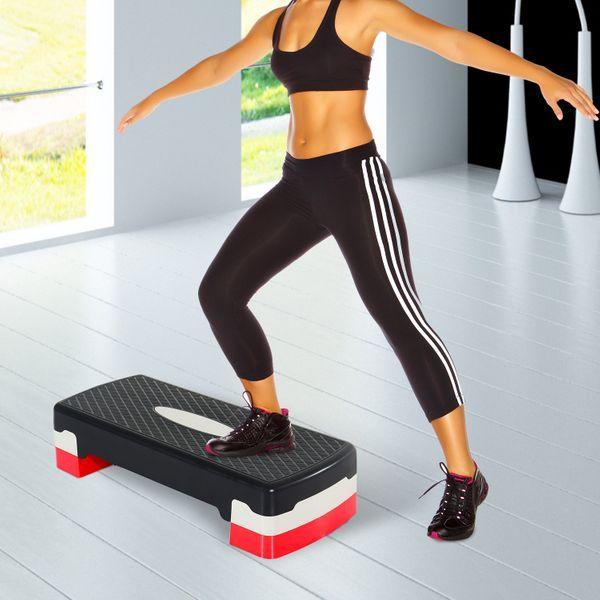 Tabla de Step Ajustable para Fitness Aeróbic