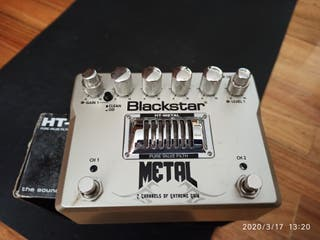 Pedal Blackstar HT METAL