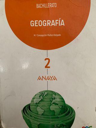 Libro bachillerato geografía