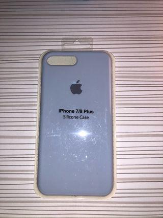 Funda Iphone 7 y 8 plus azul *NUEVA*